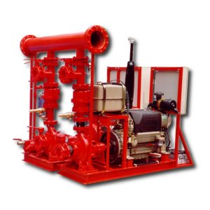 UNI 12845 compliant fire extinguishing systems