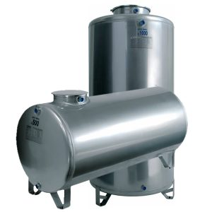 STAINLESS STEEL VERTICAL AND HORIZONTAL WATER STORAGE TANKS