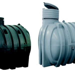 Underground tanks in polyethylene