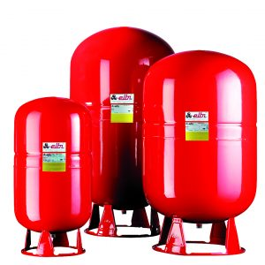 EXPANSION VESSELS FOR FIXED MEMBRANE HEATING