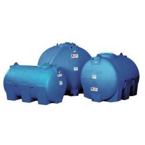 HORIZONTAL POLYETHYLENE WATER STORAGE TANKS