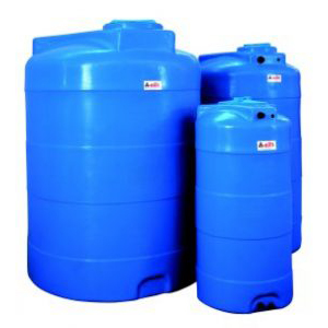 VERTICAL POLYETHYLENE WATER STORAGE TANKS