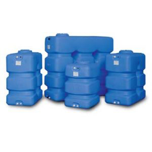 CUBIC AND PARALLELEPIPED POLYETHYLENE WATER STORAGE TANKS